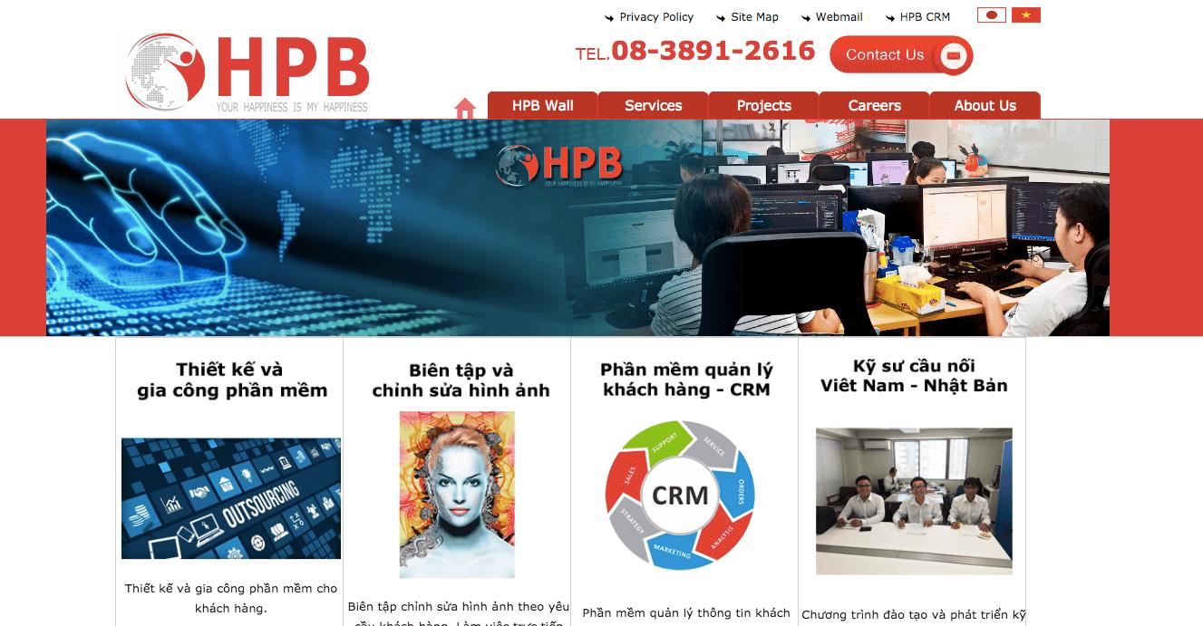 Công ty TNHH giải pháp công nghệ HPB